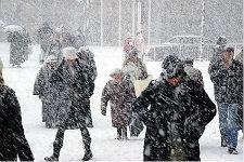 Blizzard In Michigan