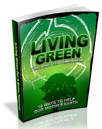 how can i live green